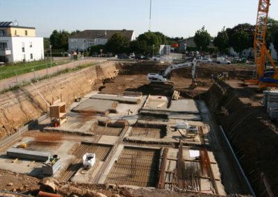 Fundamente im Baumschulenweg 19