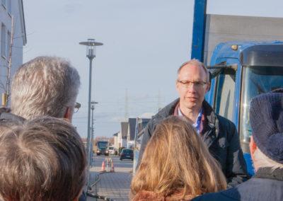 Erklärungen von Herrn Gebauer von der e-regio zur Geothermiebohrung