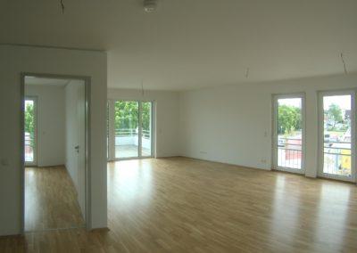 Ansicht einer Wohnung von Innen