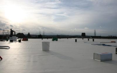 Dachbauarbeiten und Fenstereinbau im Baumschulenweg 19