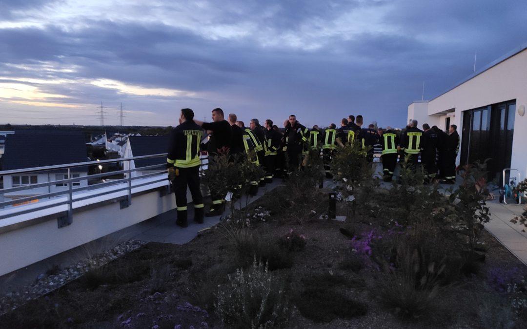 Begehung durch die Freiwillige Feuerwehr