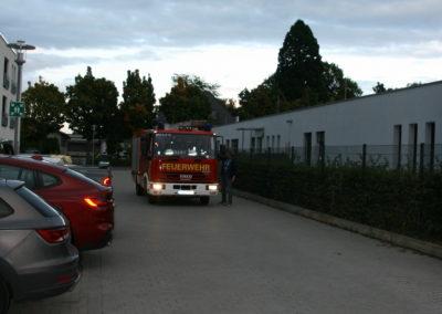 Die Feuerwehr rückt an